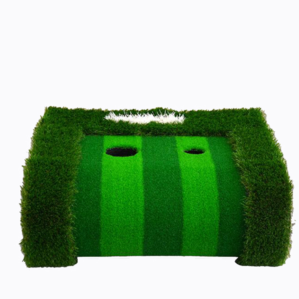 Image 2 - Golf Putting Green Indoor&Outdoor Residential Putting Mat Backyard Portable Golf Practice Putting Trainer Mat for Golfer-in Golf Training Aids from Sports & Entertainment