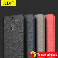 Фотография JCDA case For Huawei Mate 10 lite case silicone Shockproof Soft TPU Leather For Huawei Mate 10 lite Cover Huawei Nova 2i Cover