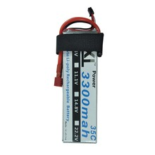 XXL Lipo Battery 3300mah 7.4V 2s 35C For Trex-450 480 remote control car Quadcopters RC Helicopters Boats