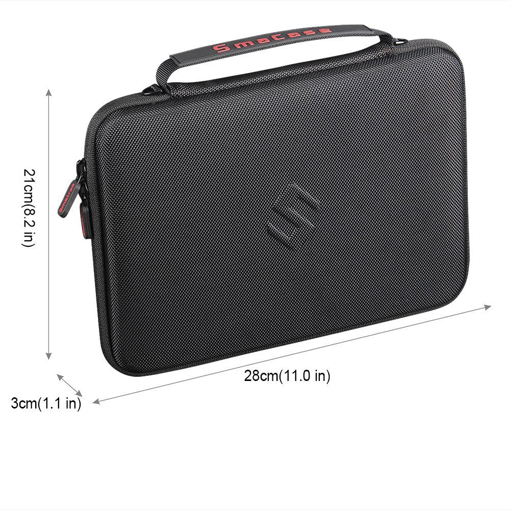 Smatree Hard Carry Case For IPad Pro 10.5 Inch,for IPad 9.7 Inch Storage Waterproof Hardshell Handbag Black