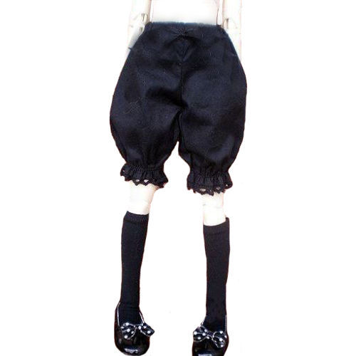[wamami] 10# Black Short Pants/Clothes 1/4 MSD DOD BJD Dollfie