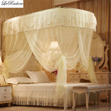 2017 Foldable Mosquito Net Insect Net Decorative Insect Netting Mosquito Mesh Three Openings Student Mosquito Net for Double Bed