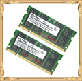 Памяти ноутбука для Elpida 4 ГБ 2 x 2 ГБ PC2-6400 DDR2 800 6400 S ноутбук оперативной памяти 2 г 200-контактный SO-DIMM
