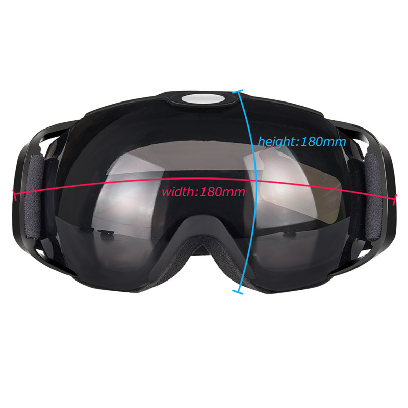 ski goggles double lens anti-fog spherical ski glasses skiing men women snow goggles Box Set