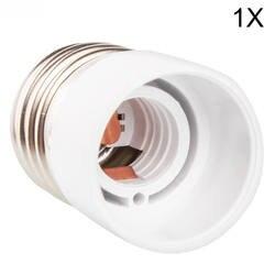 1x конвертер E27 для E14 адаптер переходник для розетки высокое качество Материал противопожарные гнездо адаптера держатель лампы