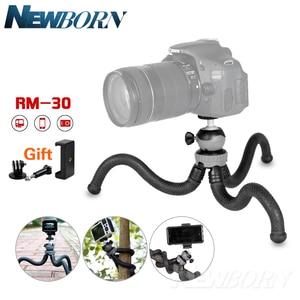 Image 1 - Cima pro RM 30 Seyahat Açık Mini Braketi Standı Ahtapot Tripod esnek işkembe telefon Için dijital kamera GoPro