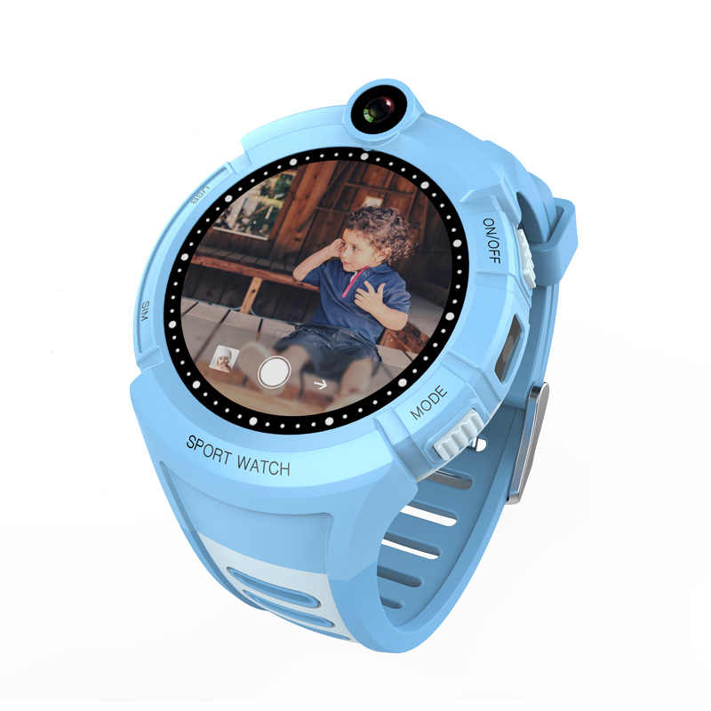 Vm50 Kids Smart Watch with Camera WIFI GPS Location Touch Screen Smartwatch SOS Anti-Lost Monitor Tracker Q360