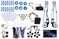 New Style Universal Power Window Kits Fit Any Vehicles With 2-Doors 12V come with Instruction