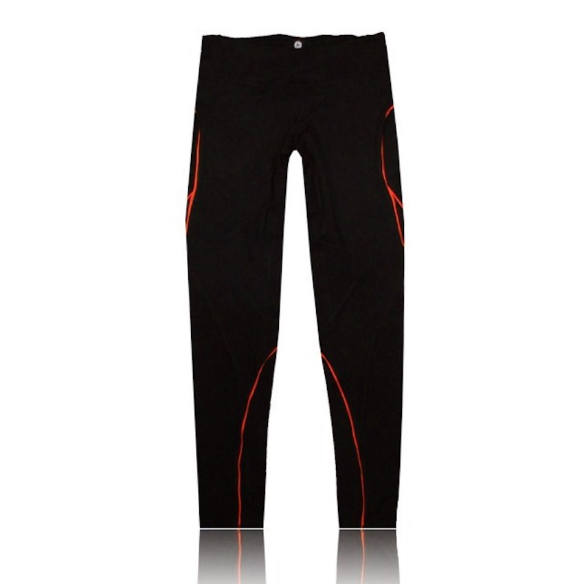 Fitness pants women sports running pants multicolor mosaic lines slim running trousers quick-dry breathable elastic compression