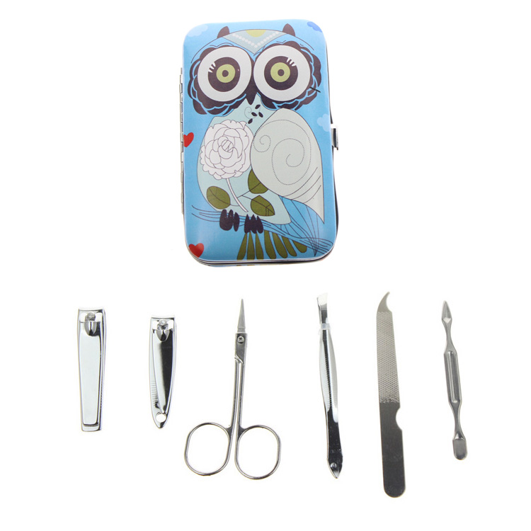6Pcs / Set 6 Different Kinds Owl Үздік француздық - Маникюр - фото 4