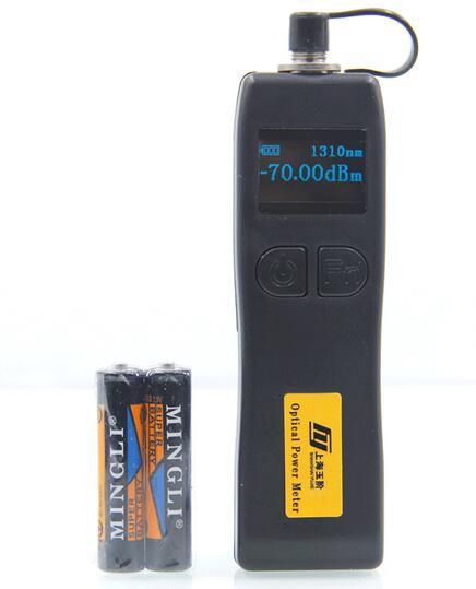 2 в 1 FTTH Набор инструментов для оптического волокна мини волоконно-оптический измеритель мощности-70~+ 6dBm и 5 км 1 мВт Визуальный дефектоскоп Волоконно-Оптический Тестер