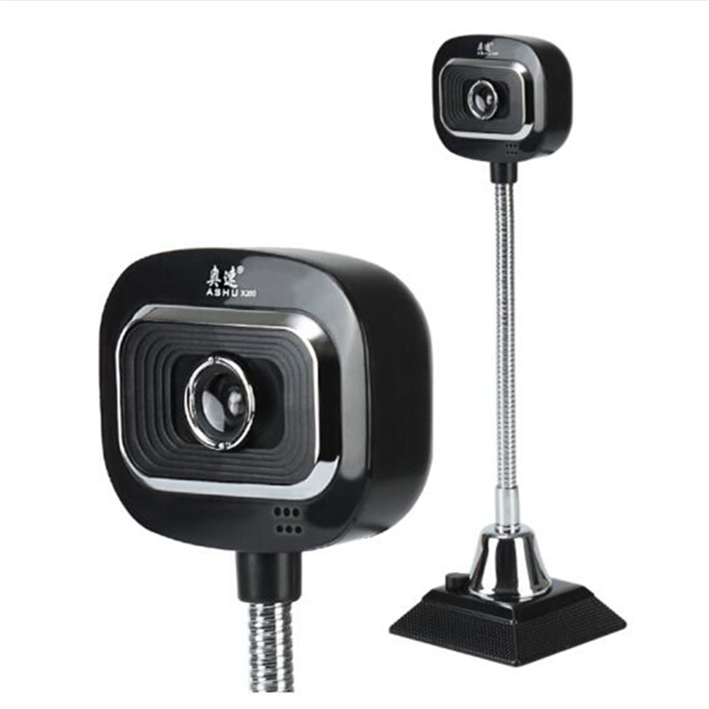 Webcam HDWeb Camera for Skype with Built-in HD Microphone USB Plug n Play Web Cam, Widescreen Video usb 300 kp driverless clip on webcam with built in microphone for pc laptop deep pink page 7