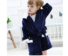 2 Styles Winter Spring Warm Baby Jumpsuits Children Cartoon Flannel Robes Animal Home Wear For Kids Birthday Gift