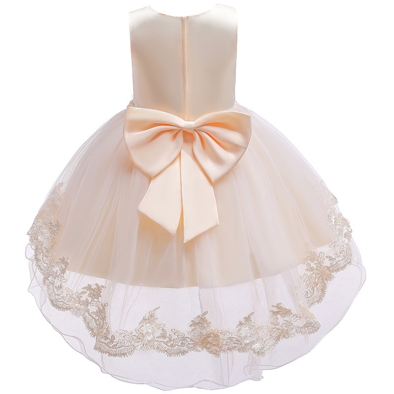 HTB1Gp8He8WD3KVjSZFsq6AqkpXaI - Kids Princess Dresses For Girls Clothing Flower Party Girls Dress Elegant Wedding Dress For Girl Clothes 3 4 6 8 10 12 14 Years