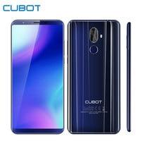 Cubot X18 Plus Smartphone Android 8 0 Octa Core 4000mAh 5 99 18 9 Full Screen