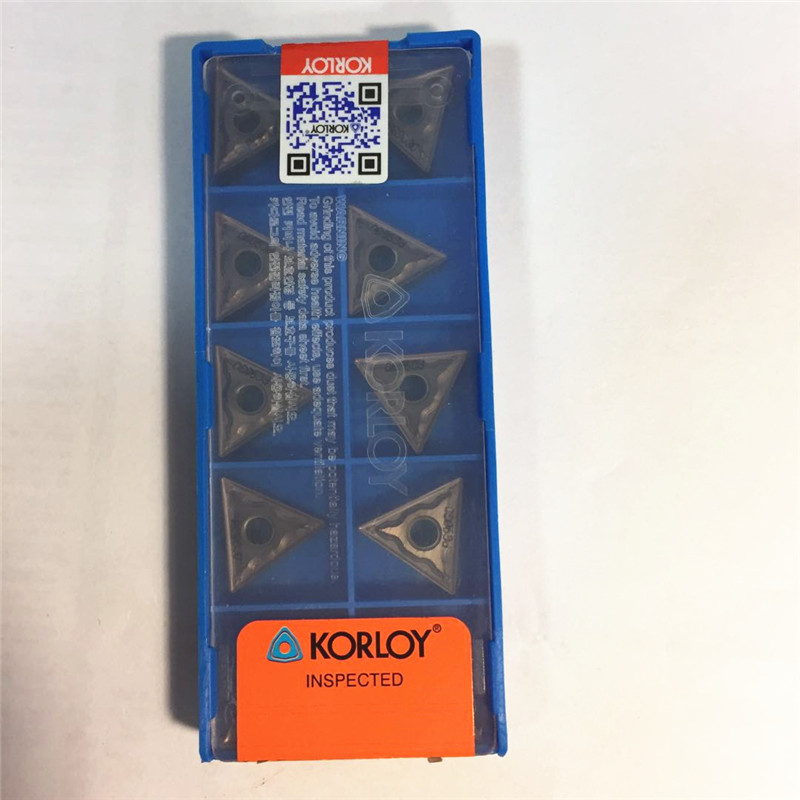 10Pcs KORLOY TNMG160404-HM PC9030  TNMG331-HM PC9030 Carbide inserts