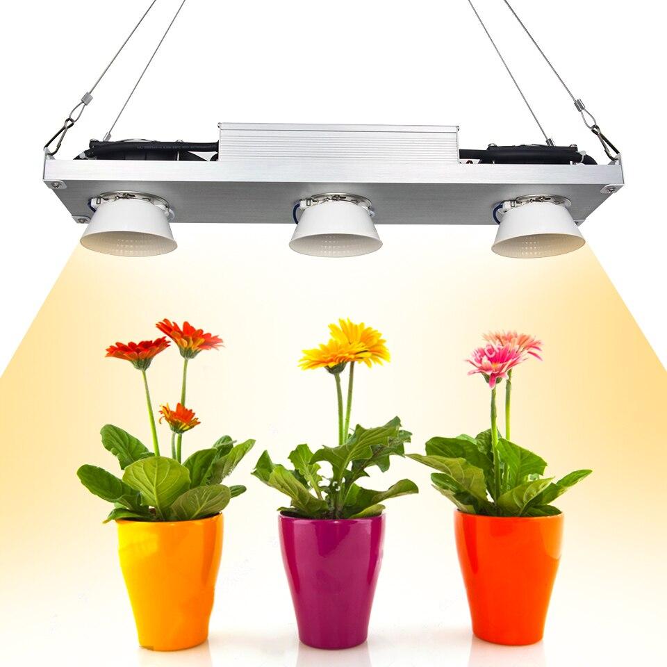 Dimmable del CREE CXB3590 300 w COB LED Coltiva La Luce a Spettro Completo Vero29 Citizen LED Crescere Lampada Crescita Delle Piante Al Coperto Illuminazione