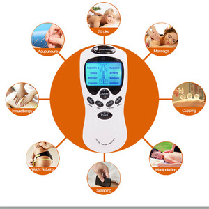 Image 5 - Health Tens Acupuncture Electric Digital Therapy Neck Back Machine Massage Electronic Pulse Stimulator for Full Body Care
