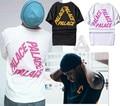 Palace T-shirts Men 1:1 High Quality 2016 New Summer Palace Skateboards T Shirt Fashion 100% Cotton Top Tee Palace T-shirts