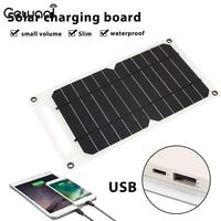 5V Solar Panel Hiking MP4 Mobile Phone Universal Smart Camping Outdoor PC External Battery Charger Ultra Slim Charging Panel