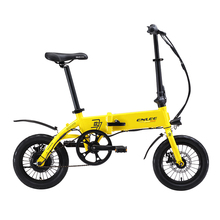 14″Mini Folding Electric Bike 36V/10.4 AH Lithium Battery Folding Electric Bicycle Frame Inner Removable Battery Relased Ebike