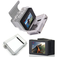 For Gopro Accessories Go pro Hero 3+ Hero 4 LCD Bacpac Display Screen External Screen For Gopro Hero3+ 4 Sport action Camera