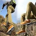 2017 New Arrive Walking Men Suede Shoes Men Mountain Shoes Non-slip Breathable Outdoor Shoes