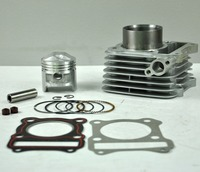 LOPOR 57mm Cylinder KIT & Piston Set & Gasket All Sets For Suzuki GS125 GN125 125CC GS GN 125 Motorcycle Air Cooled NEW