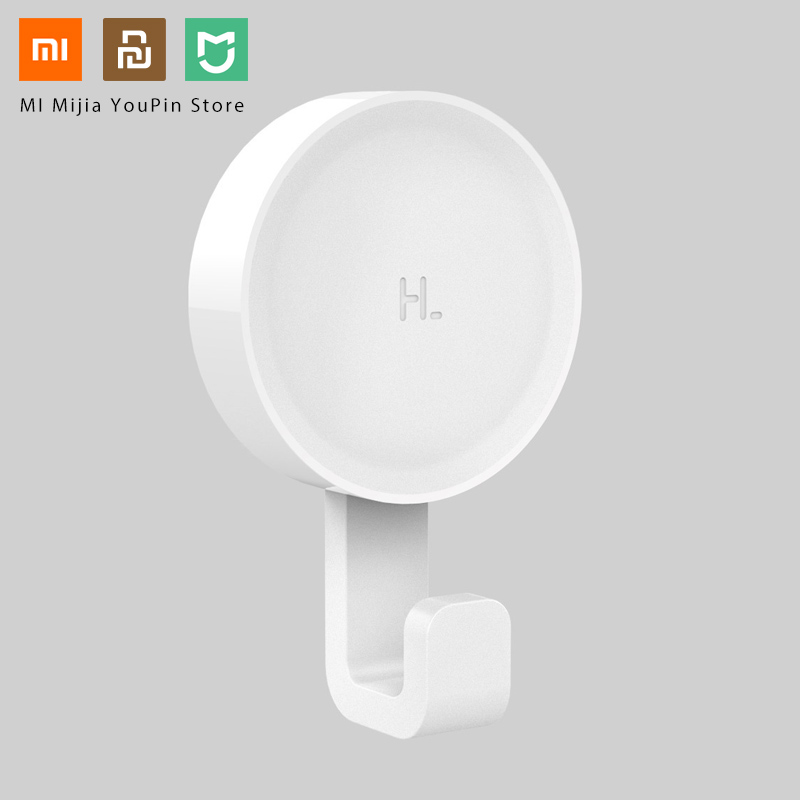 Xiaomi Mijia Little Adhesive Hooks Strong Bathroom Bedroom Kitchen Wall Hooks 3kg Max Load Up New Arrival In Stock