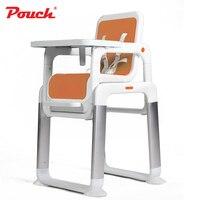 Чехол отдельный детский обеденный стол, портативный детский стульчик для кормления, PP сиденье детский стульчик для кормления, 3 в 1 сиденье б