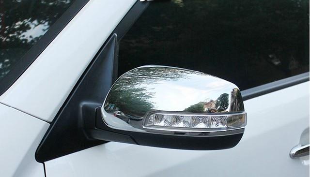 Rear mirror cover,auto side mirror cap for KIA Sorento 2013 2014,ABS chrome,auto accessories
