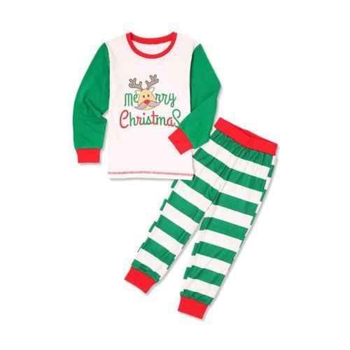 ... PUDCOCO Newest Xmas Kids Adult Family Matching Christmas Pajamas  Sleepwear Nightwear Pop casual Pyjamas ... 2e2ff7afa