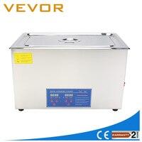 Высокая производительность 600 Вт 30L большой Ёмкость ультразвуковой очистки Нержавеющаясталь чистящие с сеткой корзины