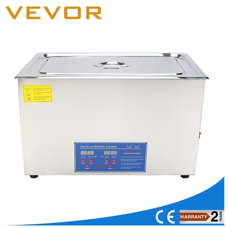 Высокая эффективность 600 Вт 30L большой ёмкость Ультразвуковой очиститель нержавеющая сталь Приспособление для чистки с сетчатой корзины