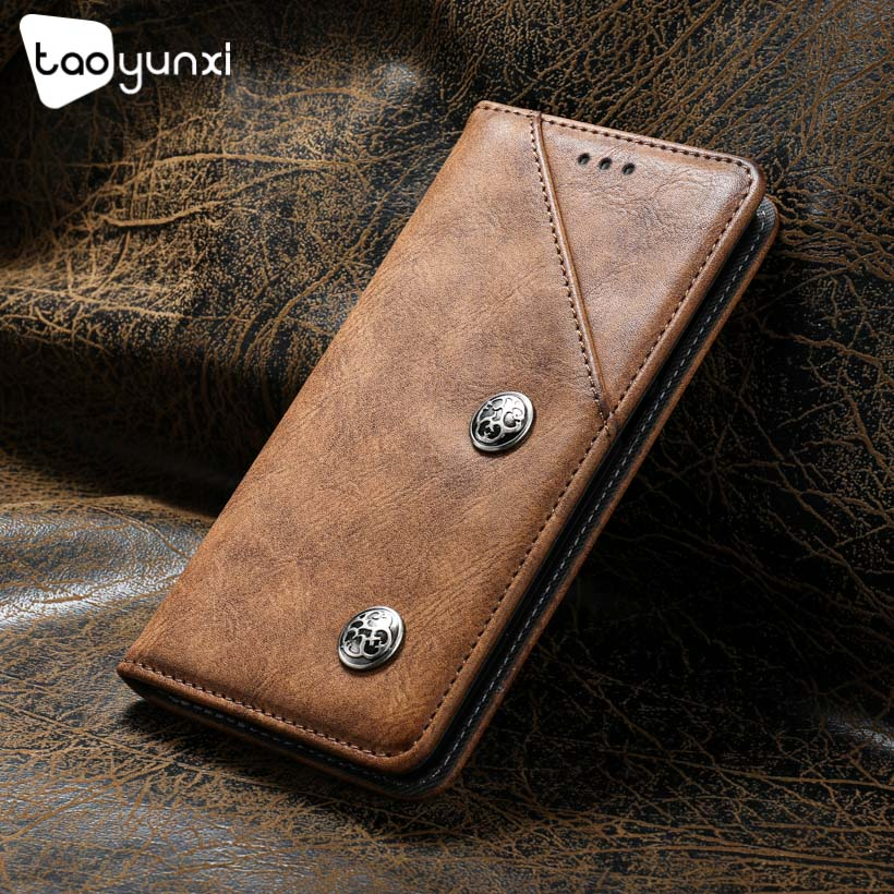 TAOYUNXI Flip Cases For LETV LeEco Le2 Pro Leather Case For LeEco X620 X621 TPU Phone Bag Vintage Silicone Retro Leather Covers