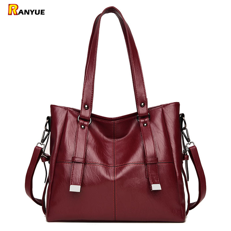 2017 Large Capacity Women Bags Shoulder Tote Bags Bolsos Mujer de Marca Famosa Pu Leather Top-handle Bags Casual Ladies Handbags comics dc marvel wallets green arrow leather purse women money bags gift wallet carteira feminina bolsos mujer de marca famosa