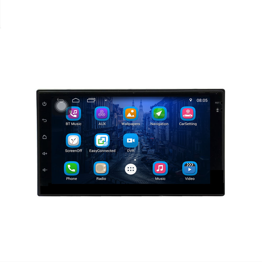 7175 7 inch Universal Android 6.0 Car Player 2DIN Auto Audio Stereo Multimedia Player Support GPS Navigation USB DVR Rear view7175 7 inch Universal Android 6.0 Car Player 2DIN Auto Audio Stereo Multimedia Player Support GPS Navigation USB DVR Rear view