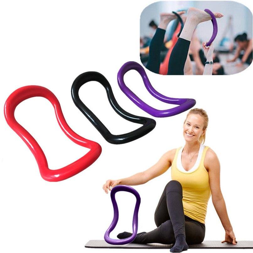 Workout Fascia Pilates Stretching Massage Fitness Training Circles Yoga Ring