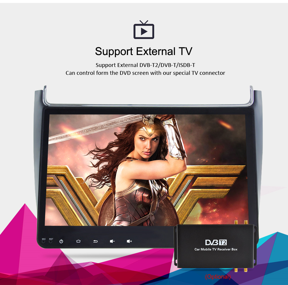 Image 4 - 4G RAM Android 9.0 Car Radio Multimedia Player For Volkswagen Polo 2015 2017 GPS Video WIFI Bluetooth Navigation Stereo NO DVD-in Car Multimedia Player from Automobiles & Motorcycles