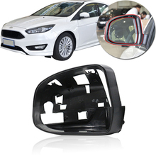 Крышка QX для Ford Focus MK3 2012- внешняя зеркальная рамка заднего вида крышка для объектива зеркало заднего вида защитный корпус задняя крышка чехол