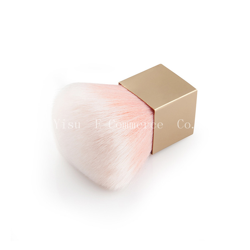 10PCS New Pink Square Foundation Brush Soft Flat Cream Makeup Brushes Professional Wonderful Women Cosmetic Make-up Brush