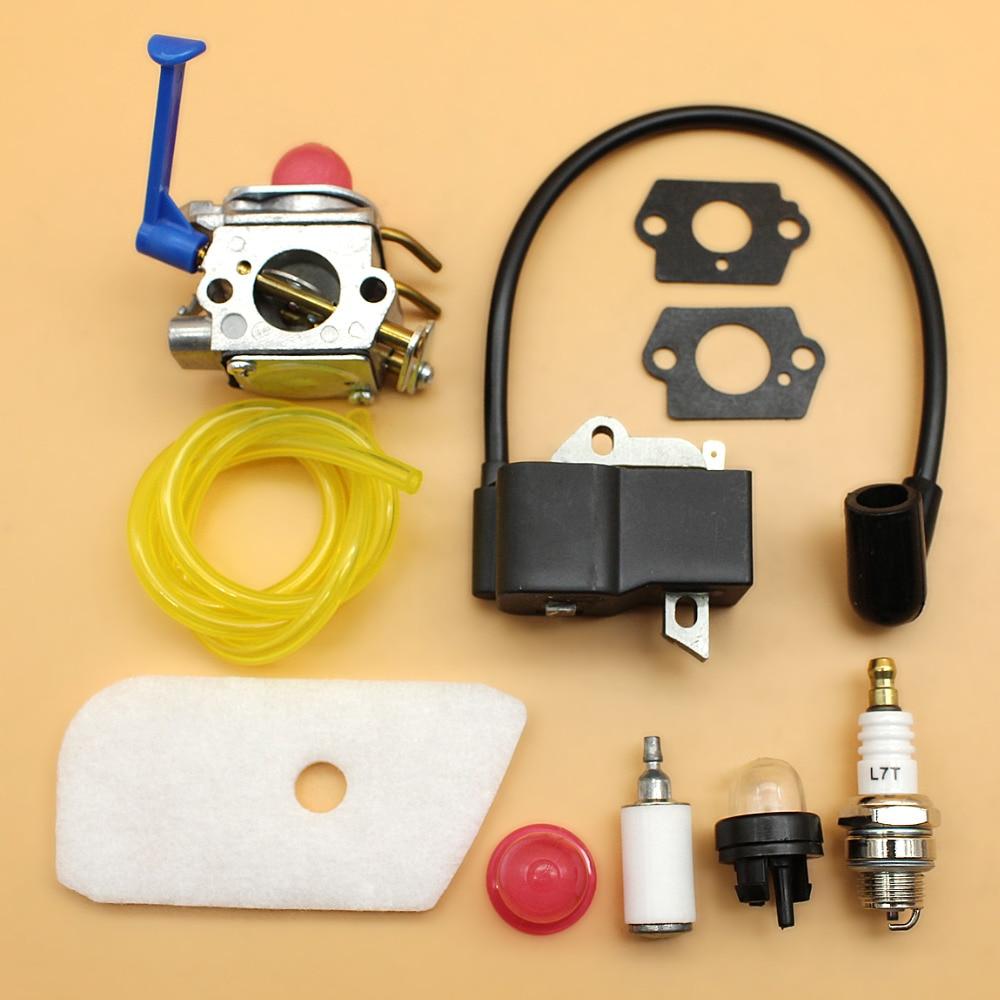 carburetor ignition coil magneto air filter kit fit husqvarna 128l husqvarna 128ld parts list husqvarna 128ld weed eater carburetor diagram [ 1000 x 1000 Pixel ]