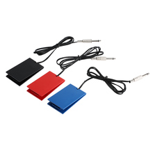 3 Colors Professional Tattoo Machine Footswitch Foot Pedal Controller Power Supply For Tattoo Switch Controller