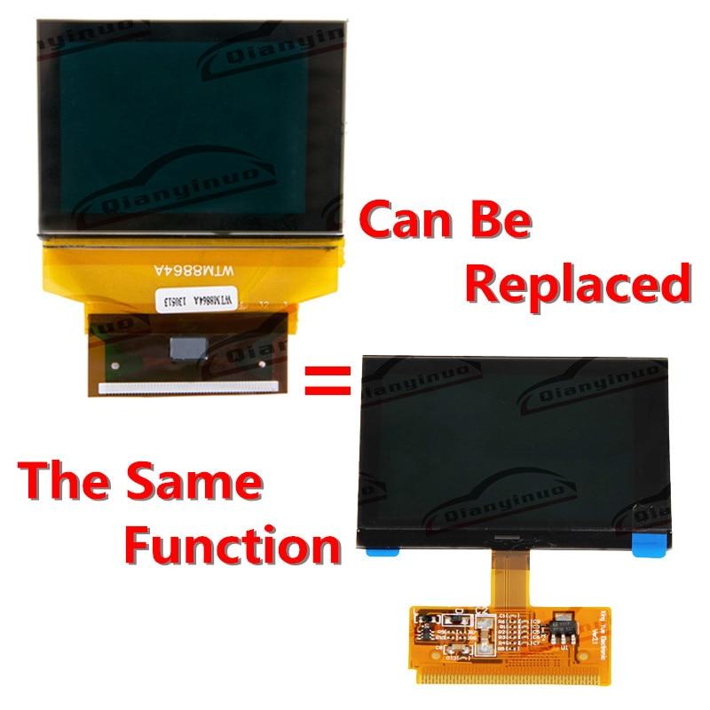 C5 balikha Monitor per Display LCD per Strumento VDO per Auto per Audi A6 97-2004