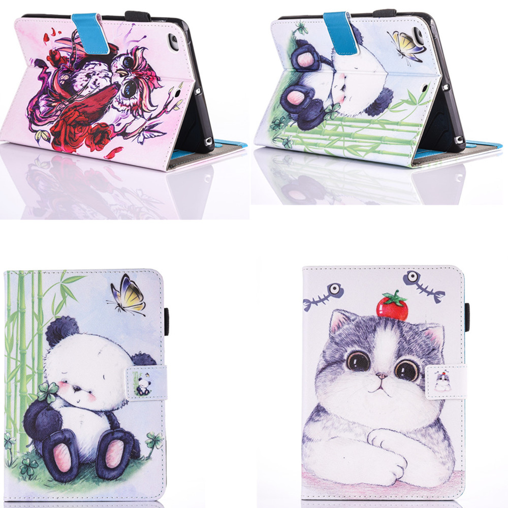 2016 High Quality Beautiful Stand PU leather Cover For Apple Ipad air 1  Case Cover for Ipad Air1 Ipad5 9.7'' Tablet Cute Cases high quality thickening tpu silicone cover for ipad air ipad 5 case fashion soft transparent froste cover air1 tablet pc stand