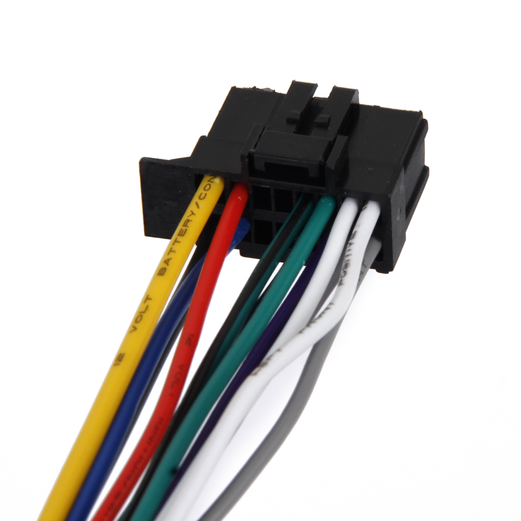 1Piece Wire Harness Adapter Connector Cable Power Antenna Radio Plug Car Stereo 16pin Connector Power Cord For Pioneer 2350