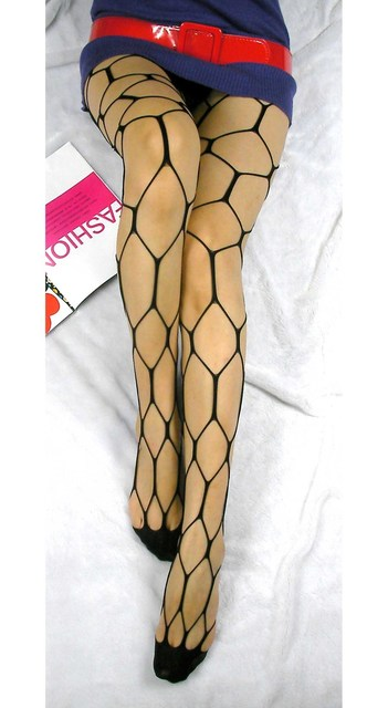 Thigh-Highs Fishnet Stockings