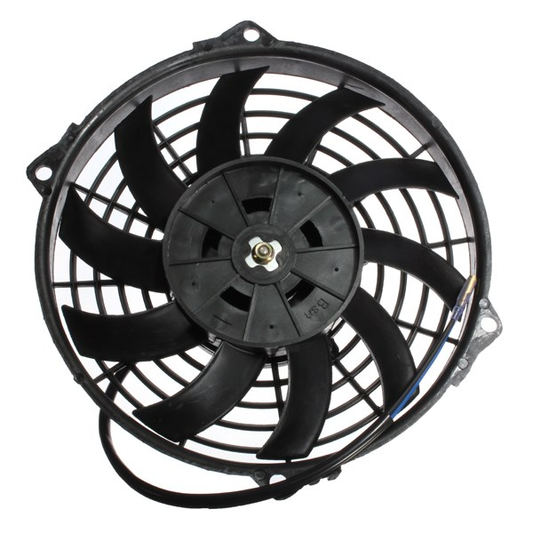 9 12v 80w Slim Reversible Electric Radiator Cooling Fan Push Pull