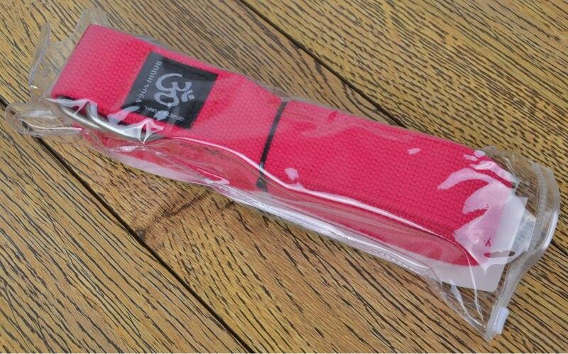 250 * 3.8cm longer oganic cotton Yoga Belt Strap Stretch Strap Pilates Exercise Fitness Gym Rope for men and wormen