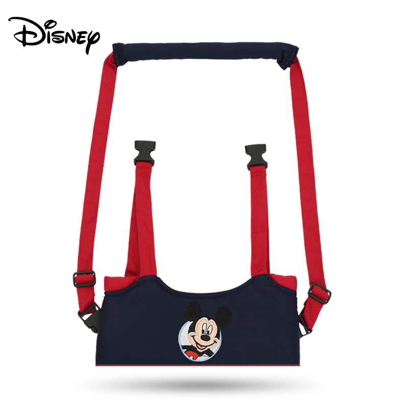 Disney Mickey Cartoon Baby Harnesses Minnie Toddler Leashes Baby Anti-lost Belt Boy Girl First Walking Harnesses Leashes
